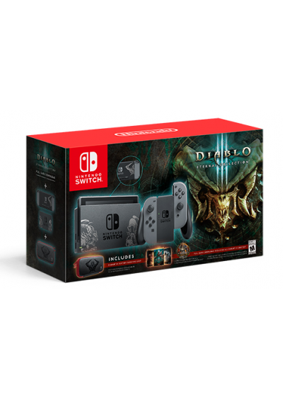 Consola Nintendo Switch Bundle Diablo 3 Eternal Collection
