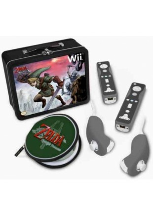 Lonchera Oficial The Legend Of Zelda Twilight Princess WII