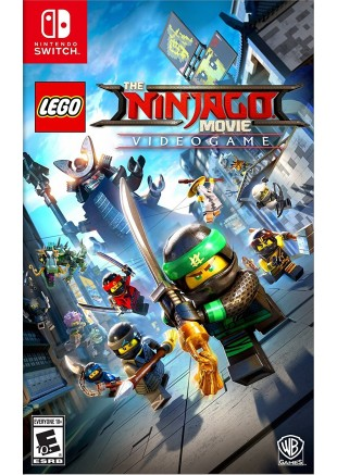 The Lego Ninjago Movie Videogame NSW