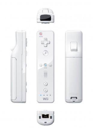 Remote Wii Blanco