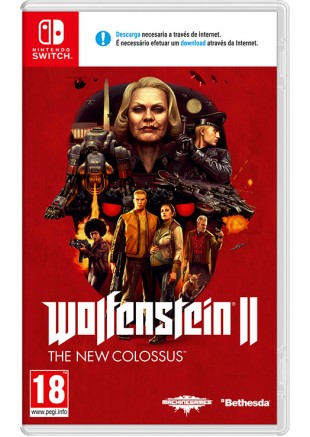 Wolfenstein II: The New Colossus NSW
